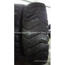 Grúa puerto neumático 2400-35 42pr 21.00-35, neumático OTR para mina, neumático de la marca de fábrica de avance