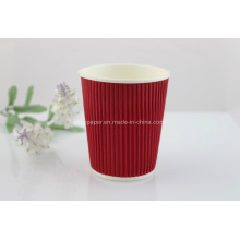 Disposable Ripple Wall Hot Tea Paper Cup (Rwpc-21)