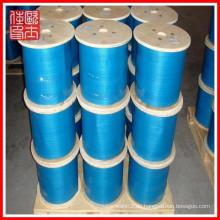 Großhandel pvc beschichtet Stahl Drahtseil (Herstellung)