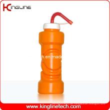 Plastik-Sport-Wasser-Flasche, Plastik-Sport-Wasser-Flasche, 750ml Plastik-Getränk-Flasche (KL-6735D)
