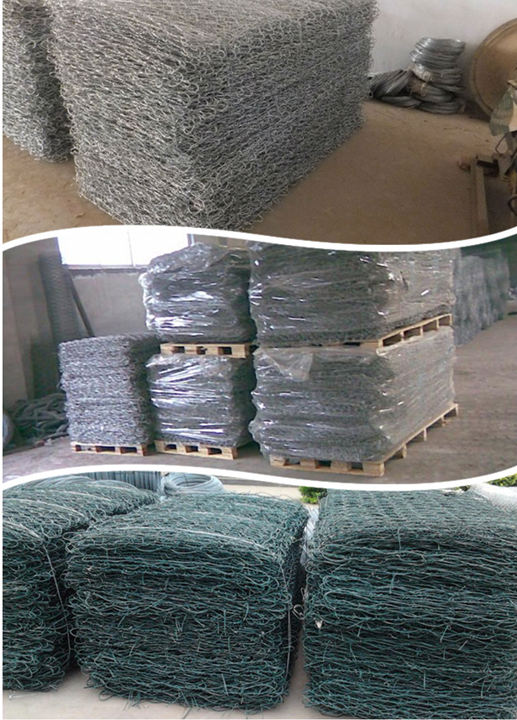 Gabion basket packaging