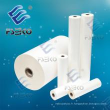 Film en rouleau de stratification à brillant thermique BOPP Super Stick avec de la colle (FSEKO-35mic)