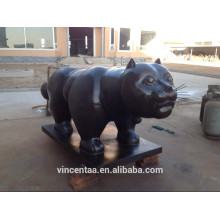 Кошка скульптура Бронза вышеупомянутыми центрами-Z114C