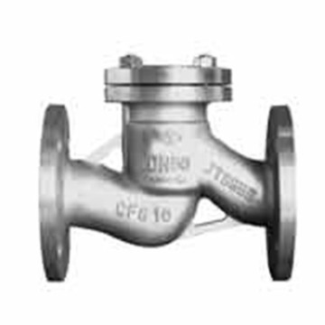 Válvula de retenção de aço inoxidável Swing