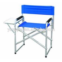 Vendendo 2015 nova cadeira de diretor de alumínio dobrável com mesa de samll