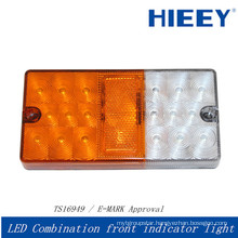 IP67 led trailer front indicator light waterproof led frontl lamp for truck