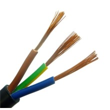 Cable de alimentación flexible de PVC 3 * 2.5mm2