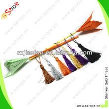 silk tassel/silk bookmark tassel/mini silk tassel