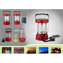 Favorably preço lanterna solar com carregador de telefone celular poli silício