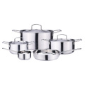 8-piece easy storage pots and pans cuisine cookware