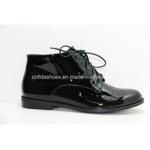 16ss New Comfort Casual Flat Women Shoes de couro