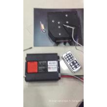 Haut-parleur à distance de sirène de police de klaxon d'alarme de voiture de hooter d'alarme de voiture de contrôle sans fil de la CE 12V 24V 100w 200w