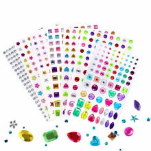 Waterproof Eco- Friendly Mobile Phone Decoration Crystal Rhinestone Sticker