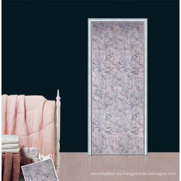 Puerta de melamina / Puerta de madera de pintura libre (YF-EH005)
