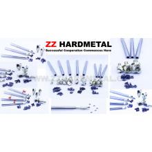 Porta-ferramentas de metal duro cimentado para pastilhas de fresamento
