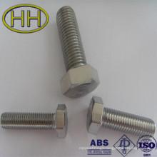 hexagonal stub bolt