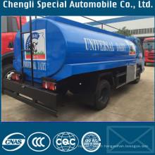 Forland Foton 4000L en acier inoxydable lait camion-citerne