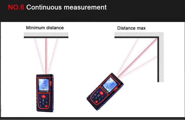 continual measure laser distance meter