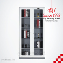 Customized full height steel metal file cabinets personal filing cupboard with swing door