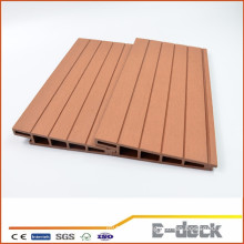 Waterproof fire resistance with SGS wood plastic composite WPC decking for outdooe flooring