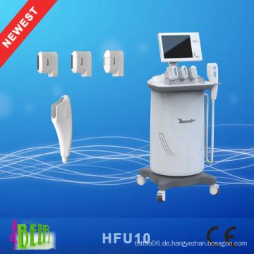Hifu, High Intensity Frequency Ultraschall Haut Falten Entfernung