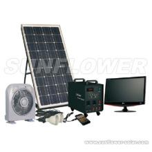 Sistema de energía casero solar 50W