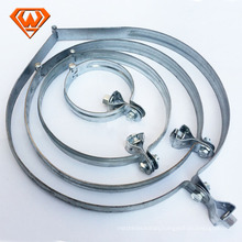 Galvanized Steel Double Wire Hose Clamp
