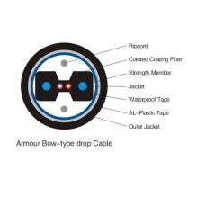 1 Kern FTTH Bug-Typ Dose Faser-Optik-Kabel für Duct Anwendung