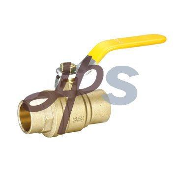 full-port brass solder ball valve