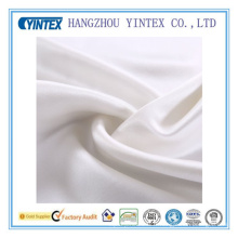 Tissu de soie blanche de haute qualité