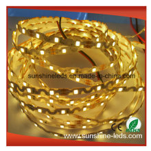 SMD2835 6mm PCB DC12V Warm White Bendable LED Flex Strip