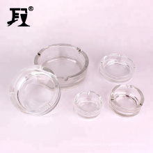 wholesale clear round ashtrays five size glass ashray household