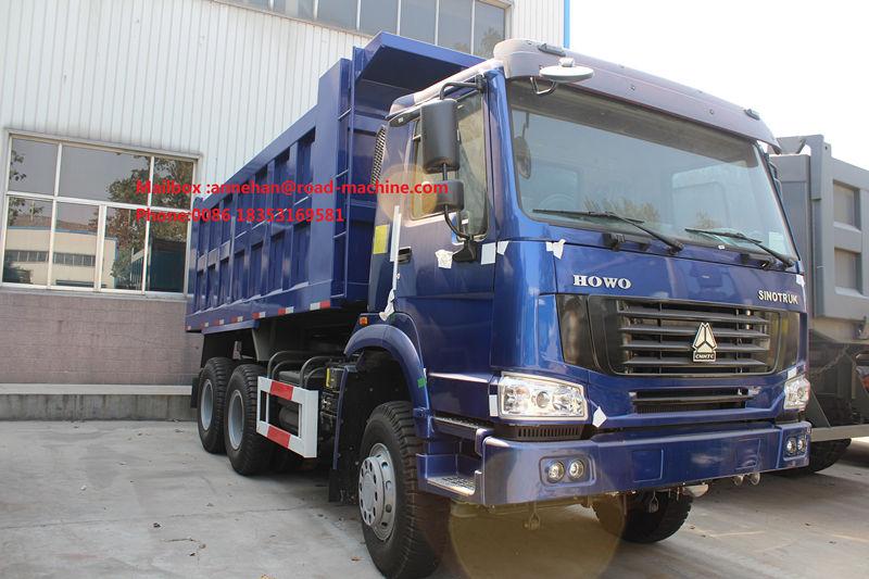 Blue Dump Truck 371hp 2
