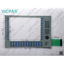 6180P-12KSXP Membrane Switch for AB Allen-Bradley 6180P Integrated Display Computers 1200P