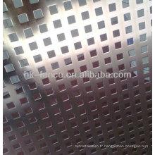 grille en métal perforé / perforée maille / en plaque métallique perforée