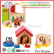 EN71 Соответствует детям Воспитательная игра Домашние животные