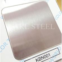 Folha de cor de aço inoxidável de alta qualidade 410 para materiais de decoração