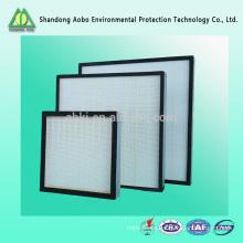 H13 H14, filtro de aire de la unidad de tratamiento de aire hepa