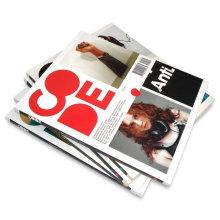Impression de livre d'impression de magazine de couleurs imprimées excentrées