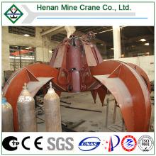 Telescope Crane Use BV Certificated Electric Hydraulic Orange Peel Grab