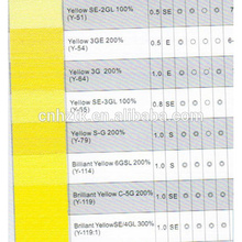 Dispersar amarillo 54 200% para textil