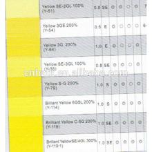 Disperse Yellow 54 200% Pour Textile