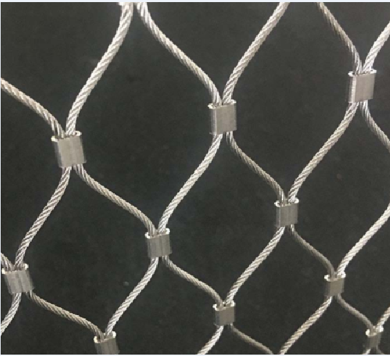 Stainless Steel Staircase Wire rope Cable Mesh03