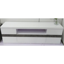 Eco-friendly cheap TV Stand with LED