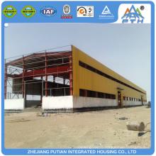Structure en acier matériaux de construction kiosque commercial
