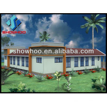 light steel prefab villa frame house luxury villa
