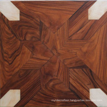 Walnut decoration art parquet floor