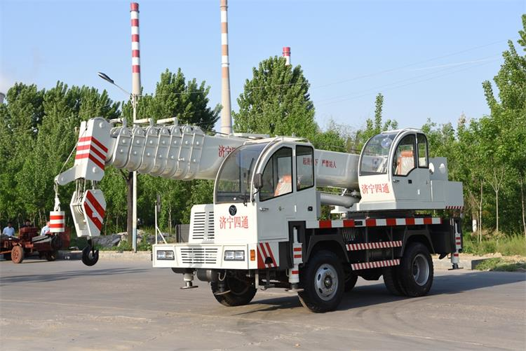 16 ton mobile crane
