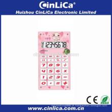 8 dígitos mini bolso criança calculadora bonito com som bibi CA-608