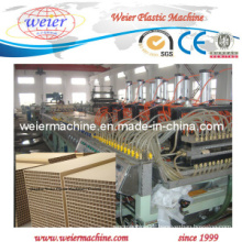 Plastic Wood PVC WPC Door Hollow Board Extrusion Machine From 15 Years Factory